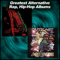 Greatest Alternative Rap, Hip-Hop Albums