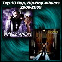 Top 10 Rap, Hip-Hop Albums 2000-2009