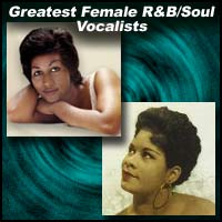 Greatest Female R&B/Soul Vocalists