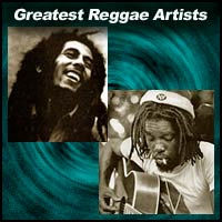 Reggae music artists Bob Marley and Peter Tosh