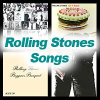 4 album covers by the Rolling Stones