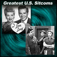 "Pictures from sitcoms ""I Love Lucy"" and ""The Honeymooners"""