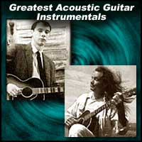 Acoustic guitarists John Fahey and Michael Hedges