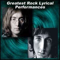 Greatest Rock Lyrical Performances
