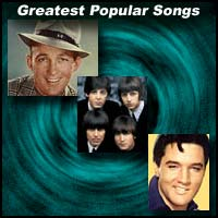 Bing Crosby, Beatles, and Elvis Presley