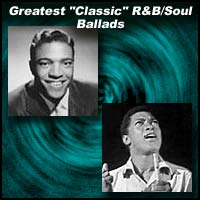 R&B singers Clyde McPhatter and Sam Cooke