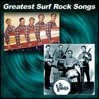 rock bands The Beach Boys and The Ventures