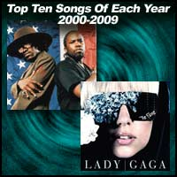 Top Ten Songs Of Each Year 2000-2009