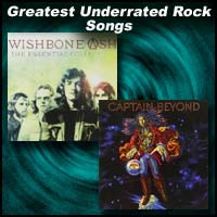 Album covers for Wishbone Ash and Captain Beyond