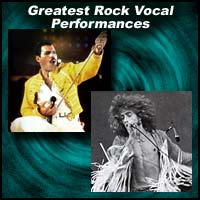Greatest Rock Vocal Performances