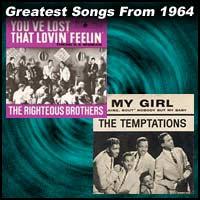 record cover art for You've Lost That Lovin' Feeling by Righteous Brotherss and My Girl by the Temptations