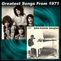 Greatest Songs From 1971