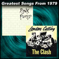 record cover art for Another Brick in the Wall, Part 2 by Pink Floyd and London Calling by The Clash