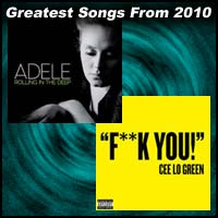100 Greatest Songs From 2010