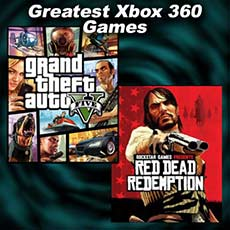 "Images from Xbox 360 Games ""Grand Theft Auto V"" and ""Red Dead Redemption"""
