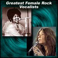 Greatest Female Rock Vocalists