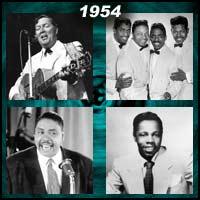 1954 music artists
