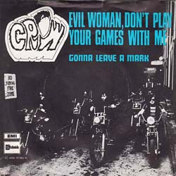 music group Crow, Evil Woman single cover