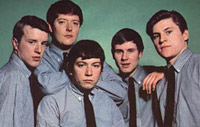 British rock group The Animals