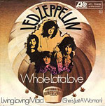 Whole Lotta Love - Living Loving Maid single cover