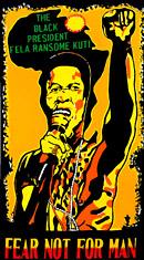 Fela Kuti Black President poster