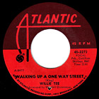 Walking Up A One Way Street by Willie Tee record lable