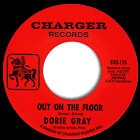 Out on the Floor by Dobie Gray record lable