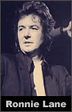 British musician Ronnie Lane
