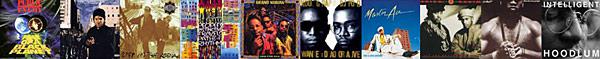 rap albums 1990