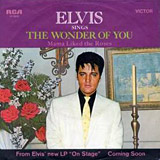 The Wonder Of You single