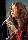 Blues-Rock singer Janis Joplin