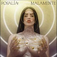 Malamente by Rosalía single cover
