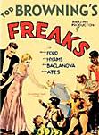 Freaks movie poster art
