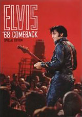 Elvis '68 comeback DVD cover