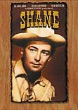 Shane movie DVD cover
