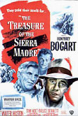 The Treasure of the Sierra Madre movie DVD cover