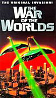 The War of the Worlds movie DVD cover