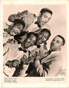 The 5 Royales 1958 promo photograph