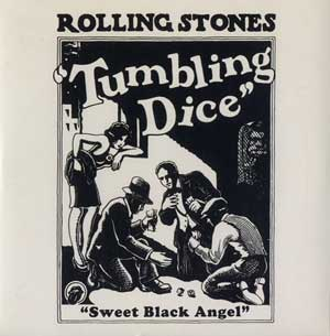 Tumbling Dice record cover