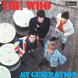 My Generation - The Who single cover