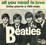 All You Need Is Love - Beatles single cover