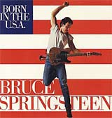 Born in the U.S.A. - Bruce Springsteen single cover