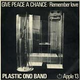 Give Peace A Chance - John Lennon single cover