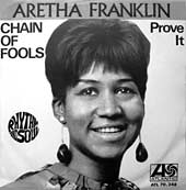Chain Of Fools Aretha Franklin single cover