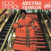 Rock Steady Aretha Franklin single cover
