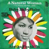 (You Make Me Feel Like) A Natural Woman Aretha Franklin single cover
