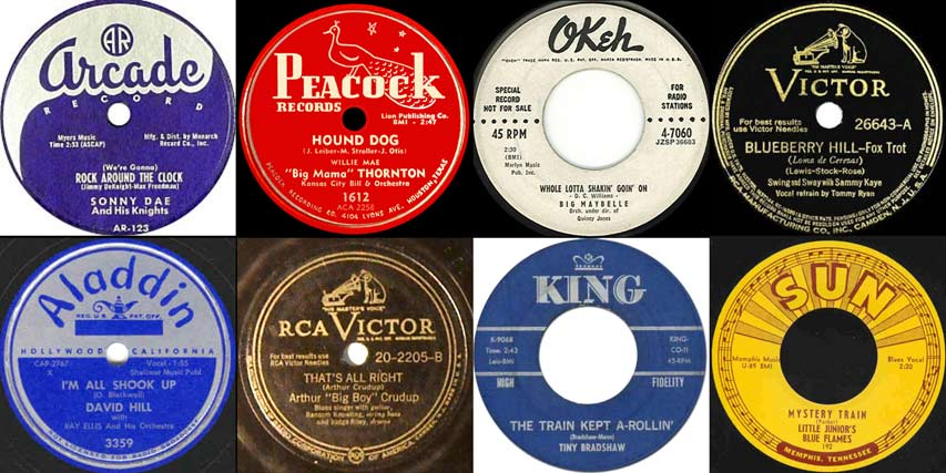 Cover Songs and Remakes 1950s collage image