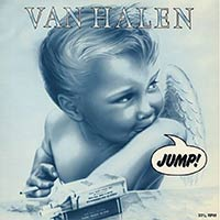 Jump by Van Halen single cover