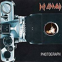 Photograph by Def Leppard single cover