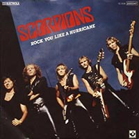 Rock You Like a Hurricane by Scorpions single cover